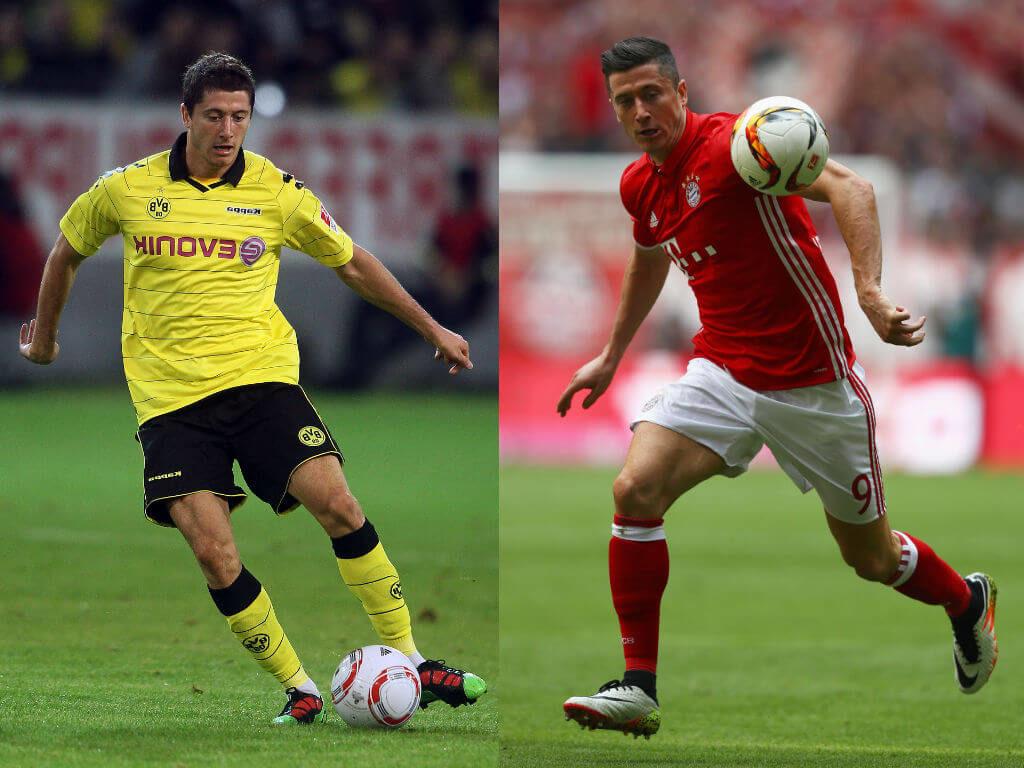 Robert Lewandowski (Dortmund zu Bayern) – die nächste Schwächung des Rivalen. Foto: Getty Images