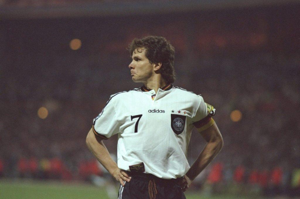 Andreas Möller gehört als Welt- und Europameister von 1990 und 1996 zu den größten deutschen Spielern aller Zeiten.
