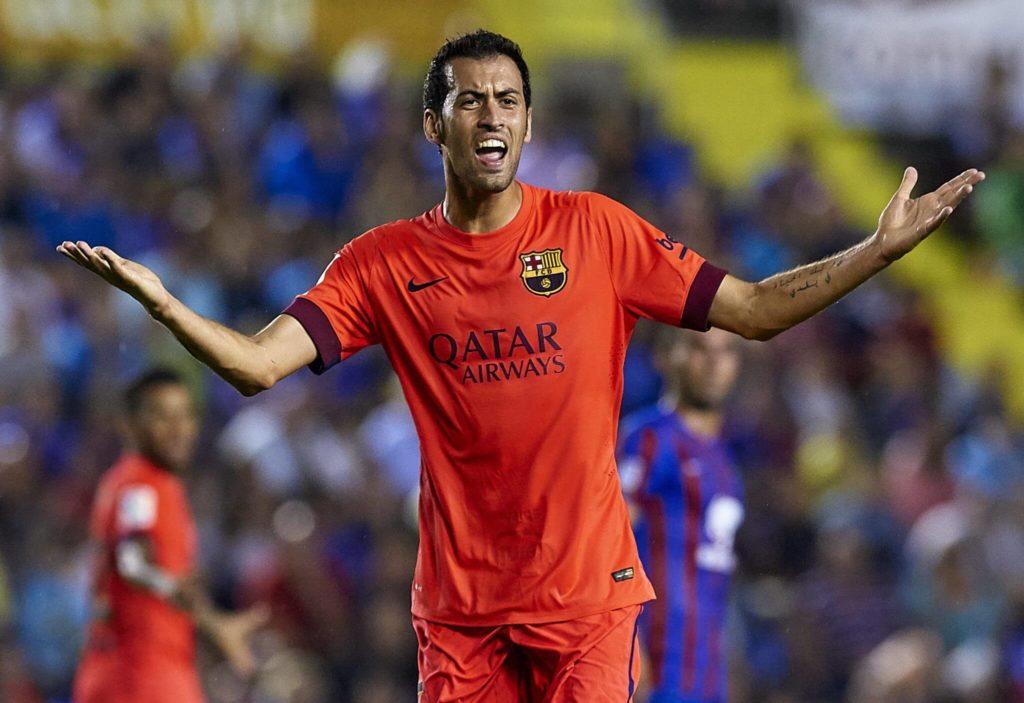 Sergio Busquetsist berüchtigt für seine Schwalben und Beleidigungen von Gegenspielern. Foto: Getty Images