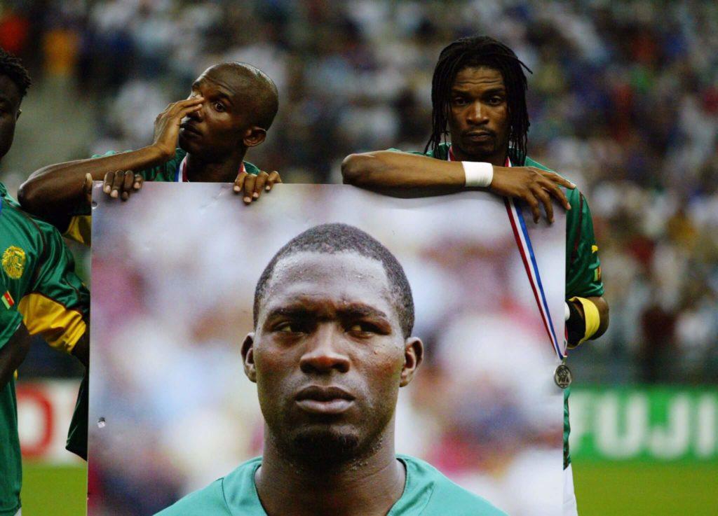 Die Trauer um Marc-Vivien Foé war groß. Foto: Getty Images