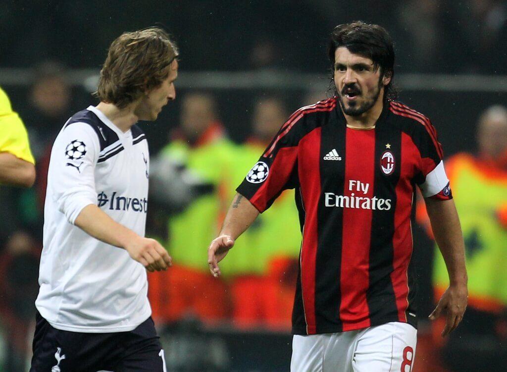 Gennaro Gattuso (rechts) war kein Kind von Traurigkeit. Foto: Getty Images