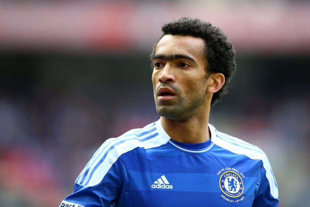 LONDON, ENGLAND - MAY 05: Jose Bosingwa of Chelsea looks on during the FA Cup with Budweiser Final match between Liverpool and Chelsea at Wembley Stadium on May 5, 2012 in London, England. (Photo by Clive Mason/Getty Images)
