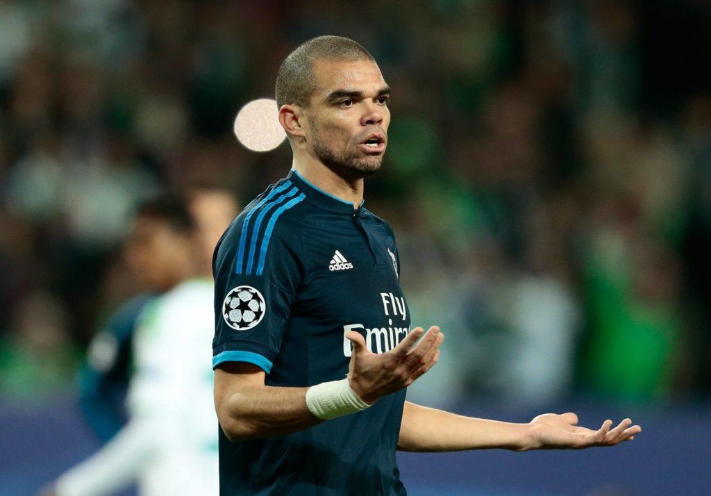 Pepe befindet sich in Spanien auf der Liste der unbeliebtesten Gegenspieler. Foto: Getty Images