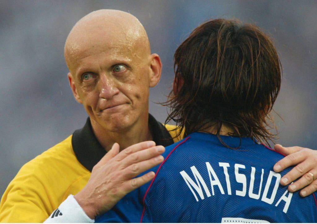 Naoki Matsuda bei der WM 2002 im japanischen Trikot. Foto: Getty Images