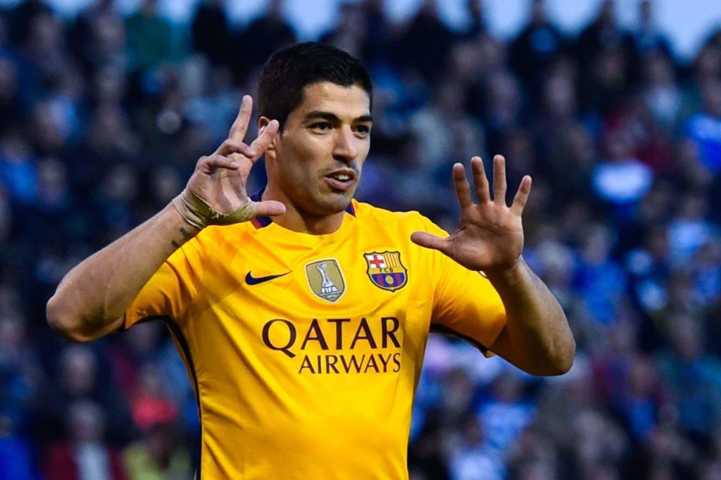Die meisten Torbeteiligungen in einem Spiel - Luis Suarez.