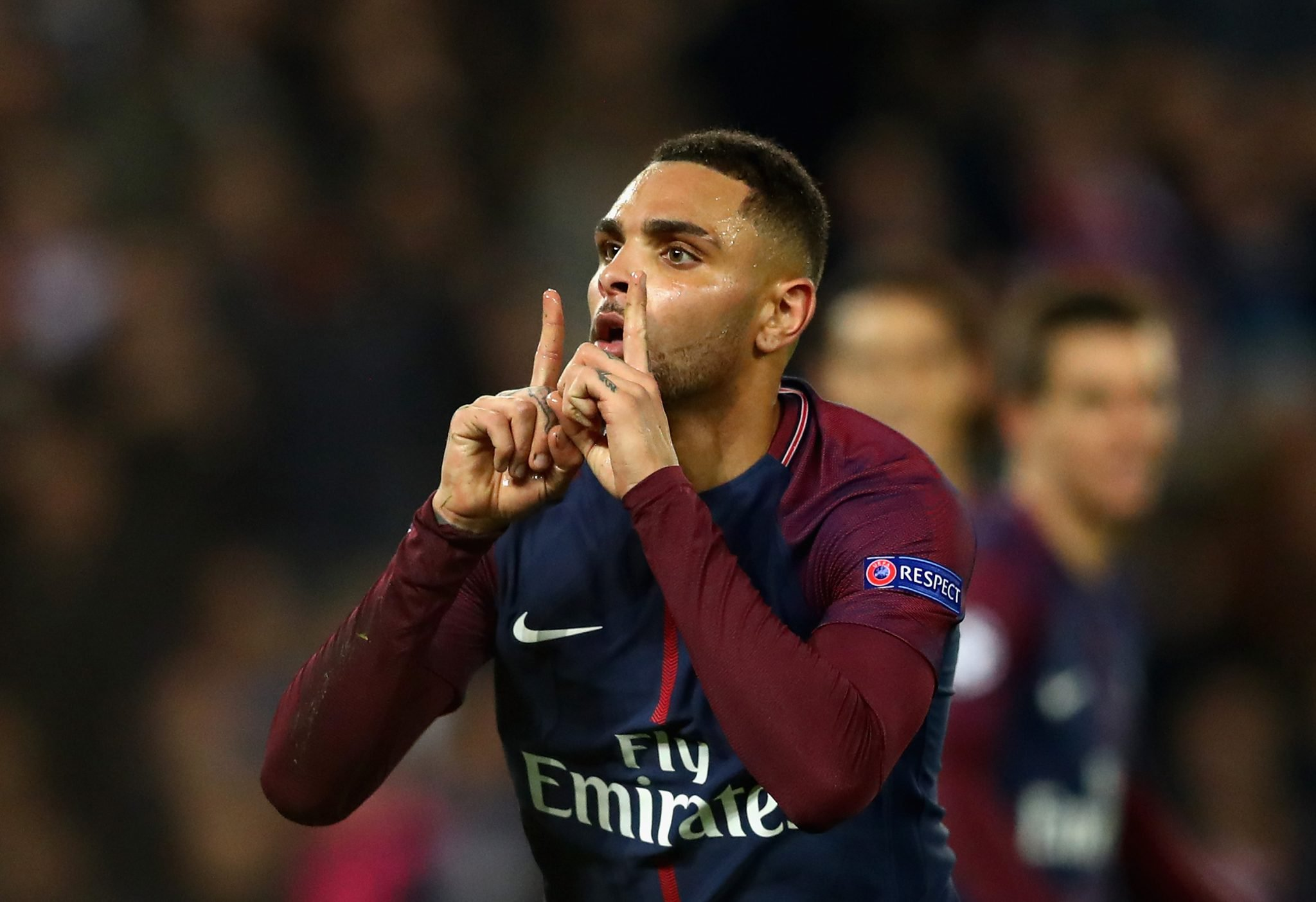 Layvin Kurzawa von Paris St. Germain. Foto: Getty Images