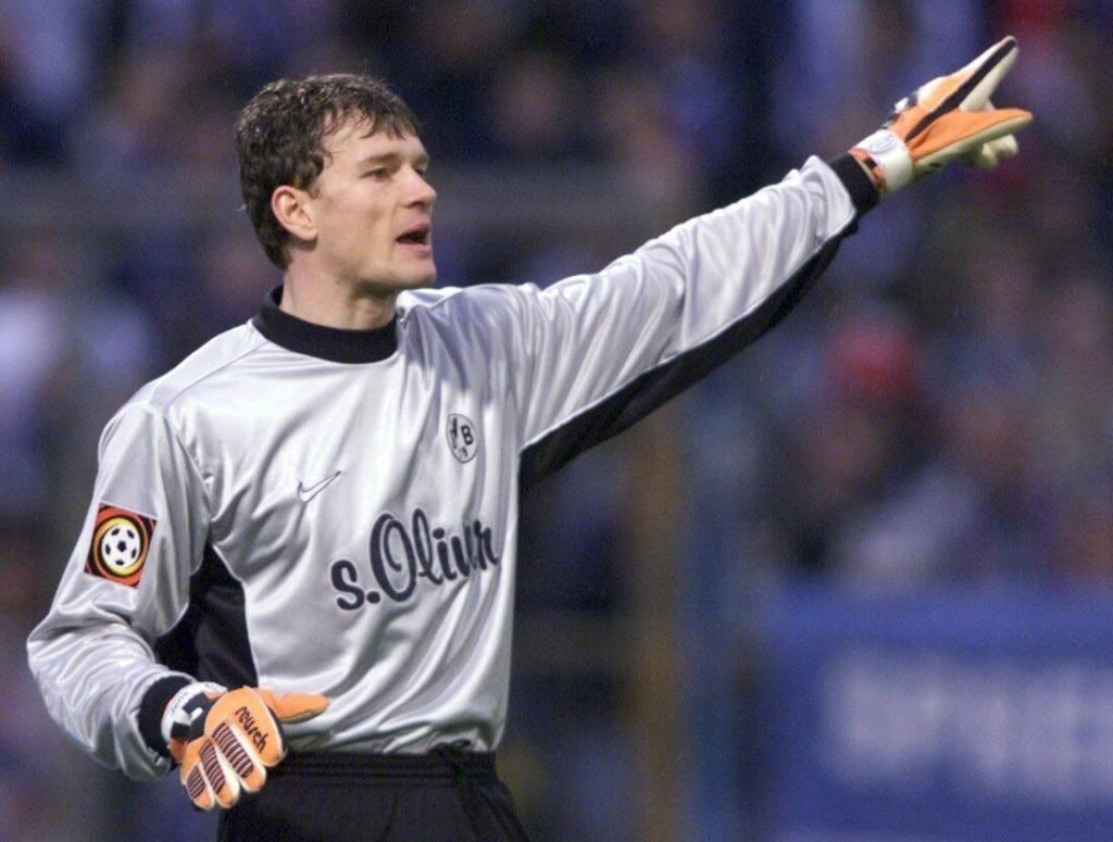 Mad Jens Lehmann - so wurde er in England genannt. Photo by Martin Rose/Bongarts/Getty Images)