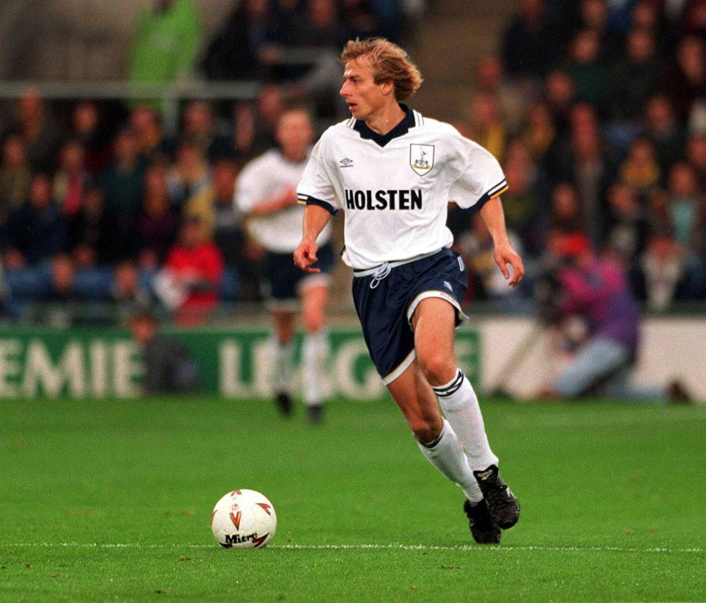 Eine Saison reicht zur Legende in London - Jürgen Klinsmann.