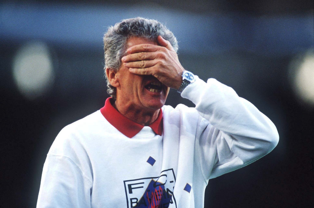 Kein Meistertitel mit dem FC Bayern München - Erich Ribbeck.