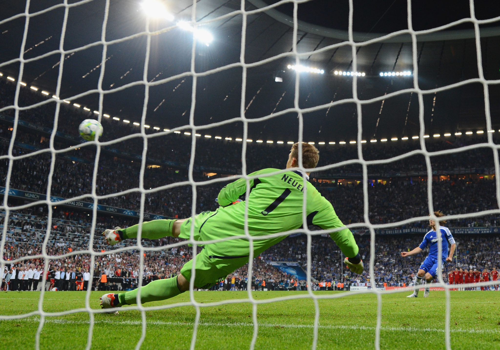 Niederlage gegen Chelsea zu Hause im Penalty Shoot-out.