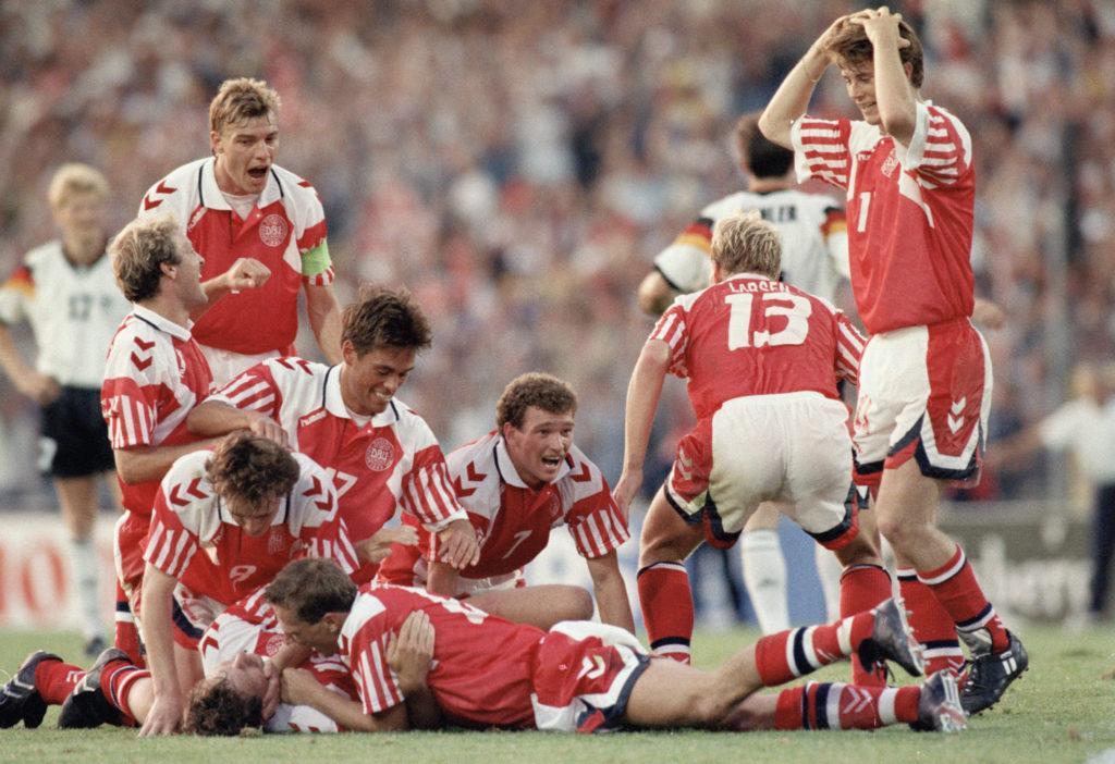 Dänemark ist Europameister 1992.