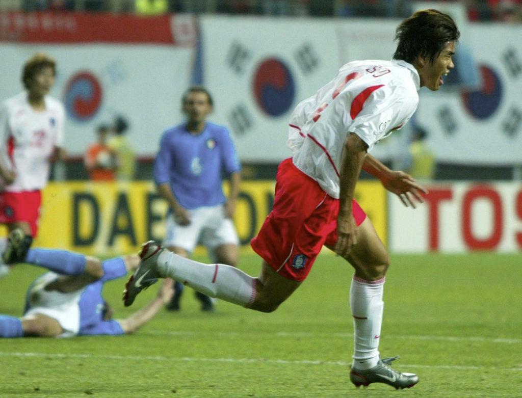 Südkorea schlägt Italien in der Verlängerung.