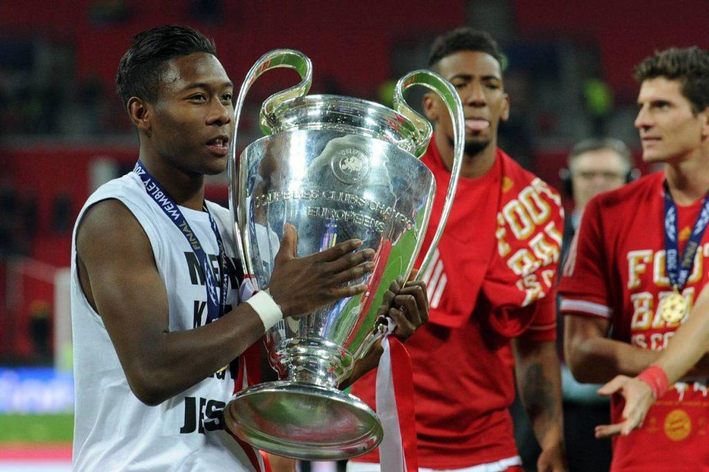 David Alaba Champions League Sieger 2013