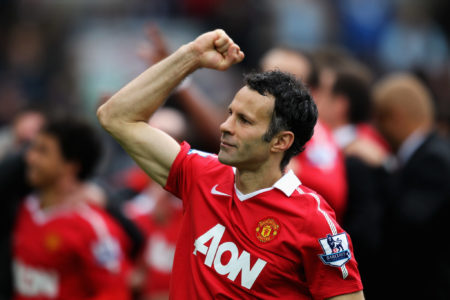 Ryan Giggs made his Manchester United in 1991 at the age of 18. He won 13 premier league titles with Red Devils, more than aul Scholes and Gary Neville.