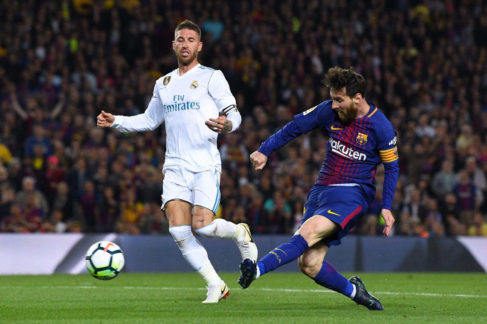 Lionel Messi für den FC Barcelona.