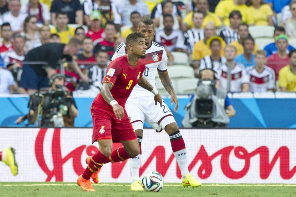 Jérome Boateng Kevin Prince Boateng WM 2014