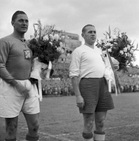 Der beste Torjäger des 20. Jahrhunderts - Pepi Bican. Foto: Imago