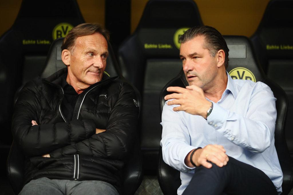 BVB-Manager Michael Zorc (r., mit Hans-Joachim Watzke) haben den Vertragspoker um Mario Götze eröffnet.