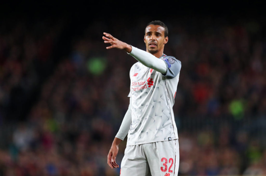 Joel Matip misses out due to injury from Liverpool's 23man squad for Club World Cup