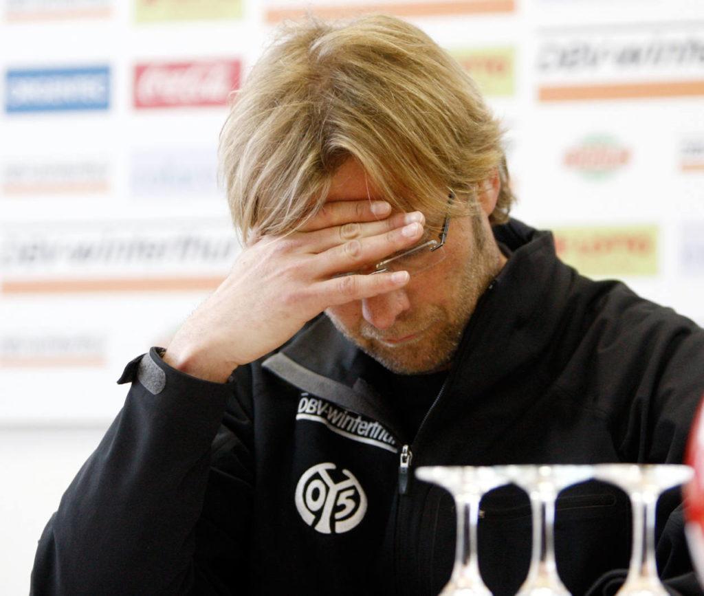 Jürgen Klopp ist häufiger verzweifelt in der Saison 2007/08.