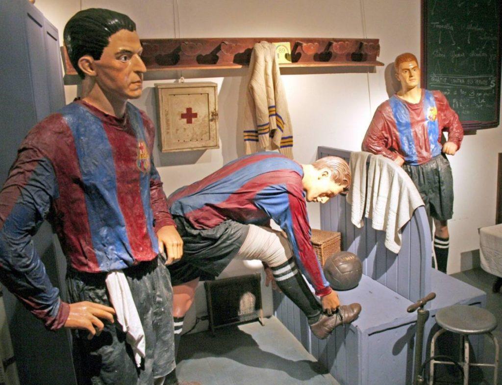 Otto Maier - deutscher Mittelstürmer in Diensten des FC Barcelona.