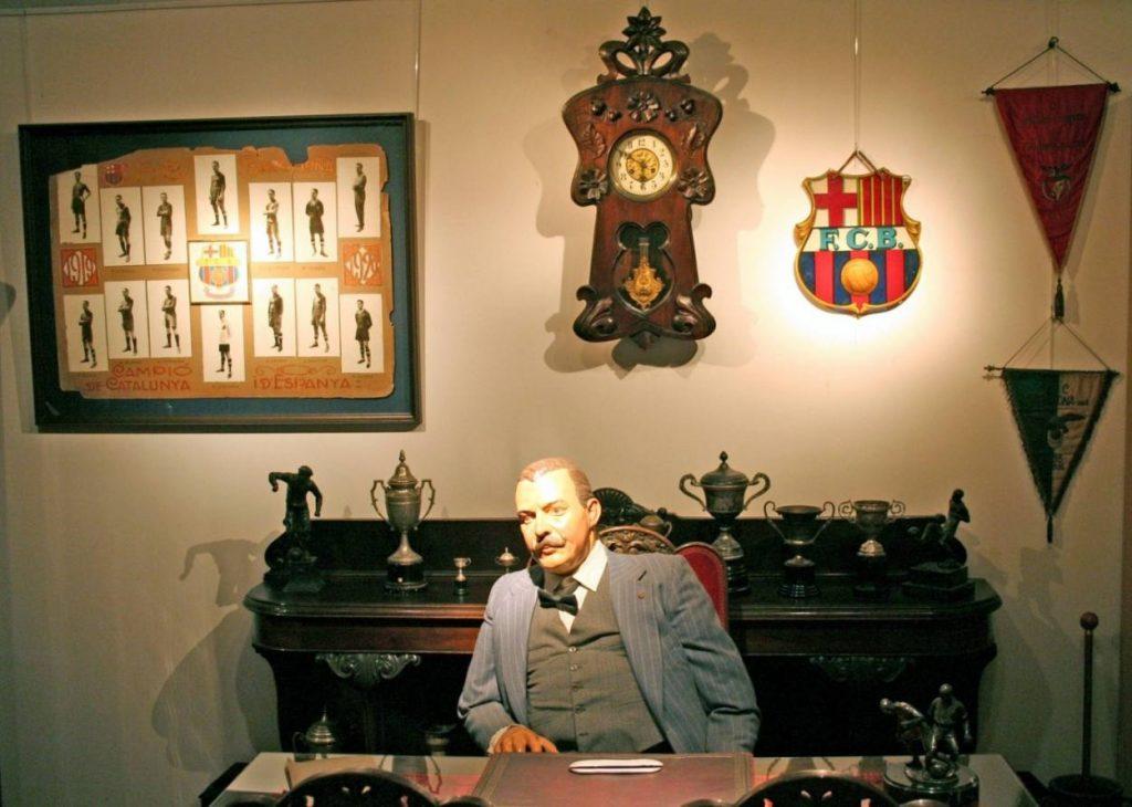Hans Gamper - Barca-Gründer und Vereinsikone.