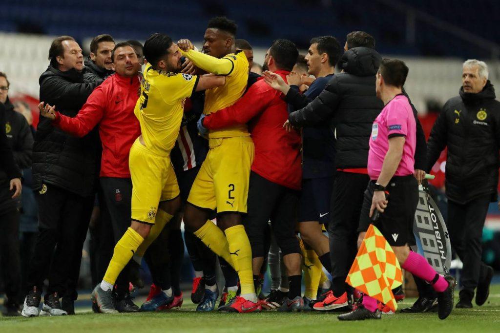 Dan-Axel Zagadou PSG - Borussia Dortmund 2:0