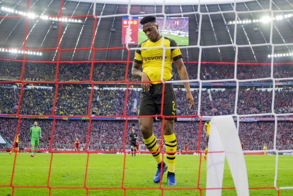 FC Bayern München Borussia Dortmund 5:0 Dan-Axel Zagadou