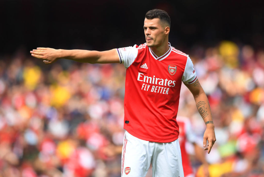 Xhaka will leave Arsenal in January