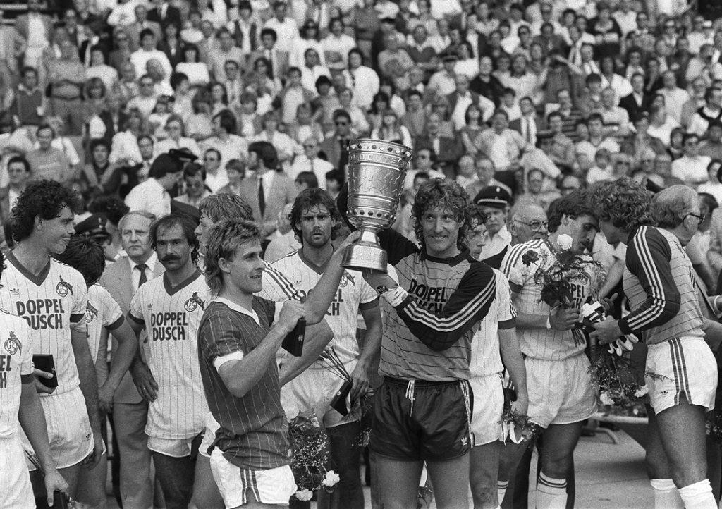 Einmaliges Stadt-Derby: Der 1. FC Köln gewinnt 1983 im Duell mit der Fortuna den DFB-Pokal.