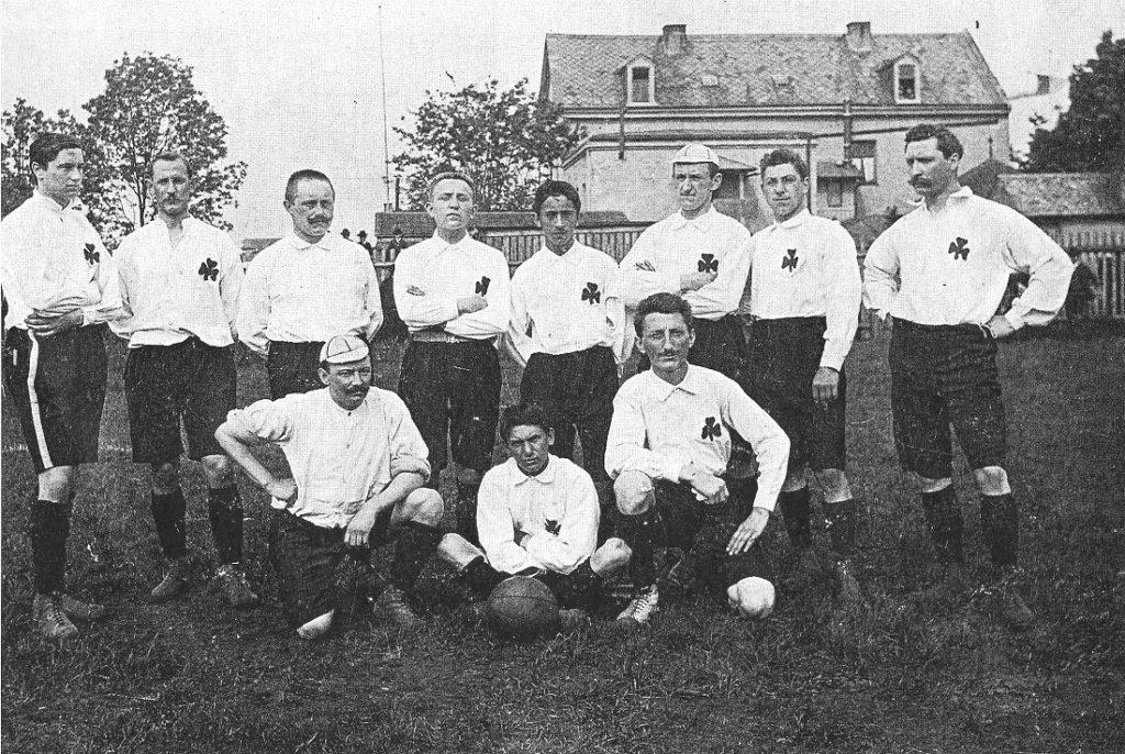 1905: Die Mannschaft der SpVgg Greuther Fürth