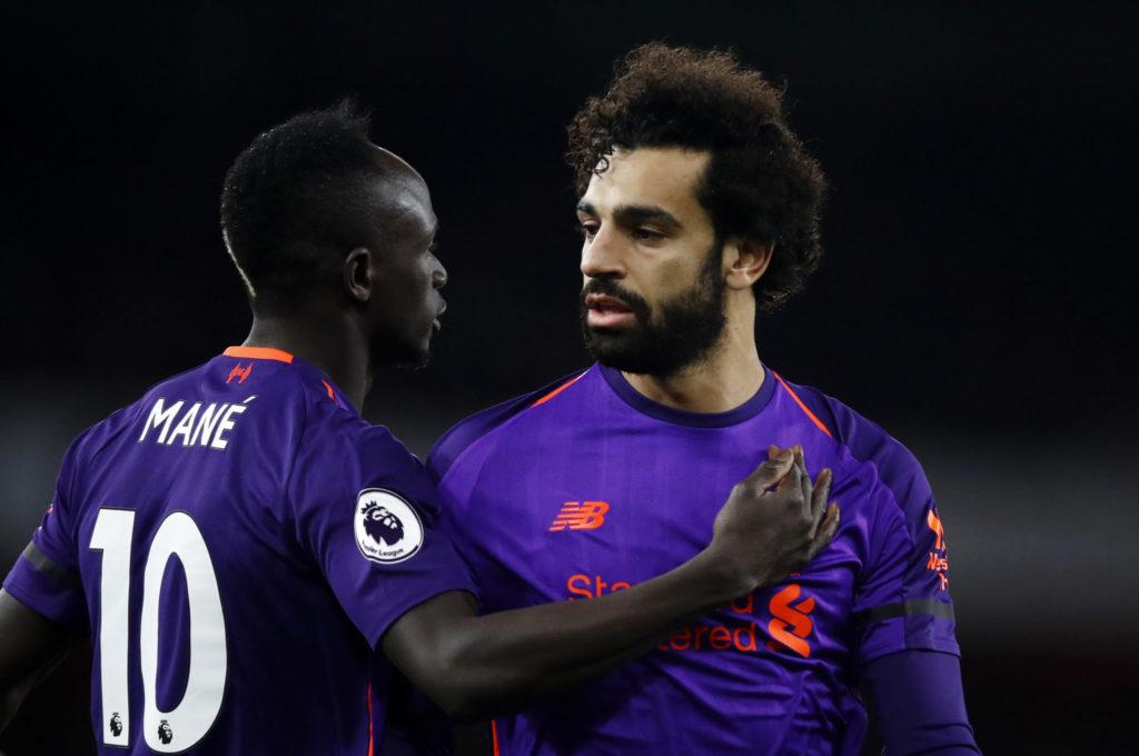 Sadio Mane und Mo Salah - Sturmpartner beim FC Liverpool.