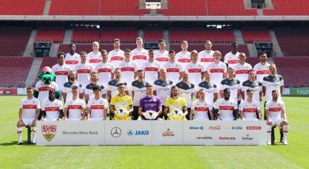 VfB Stuttgart Teamfoto 2020/2021