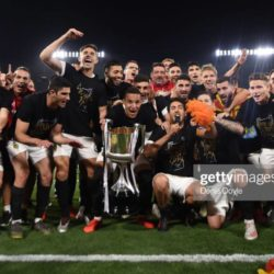 Valencia Winning COPA 2019