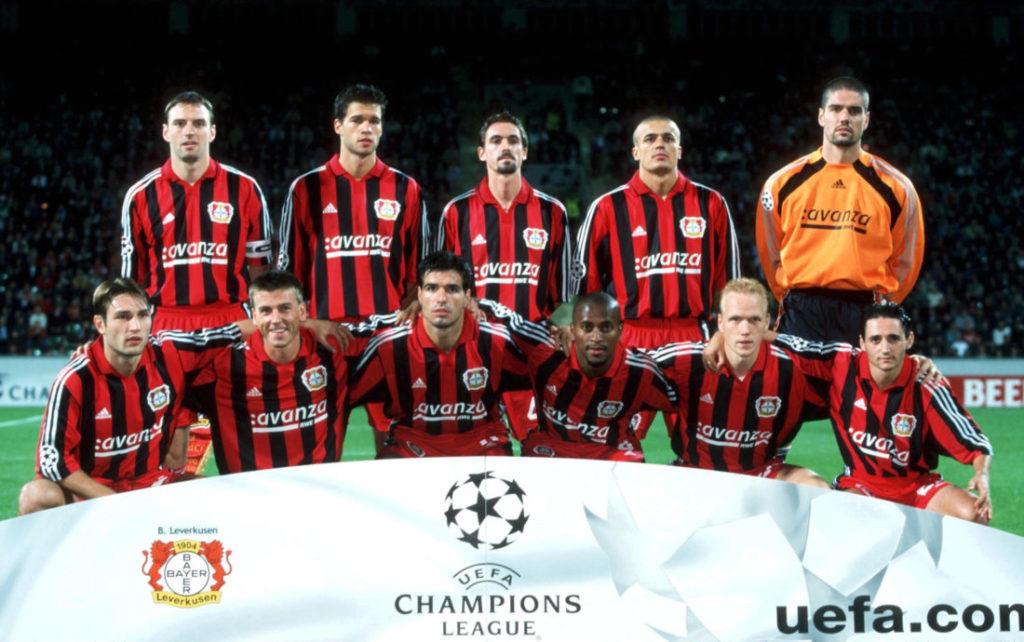 LEVERKUSEN, GERMANY - SEPTEMBER 27: CHAMPIONS LEAGUE 00/01, Leverkusen; BAYER O4 LEVERKUSEN - REAL MADRID 2:3;
