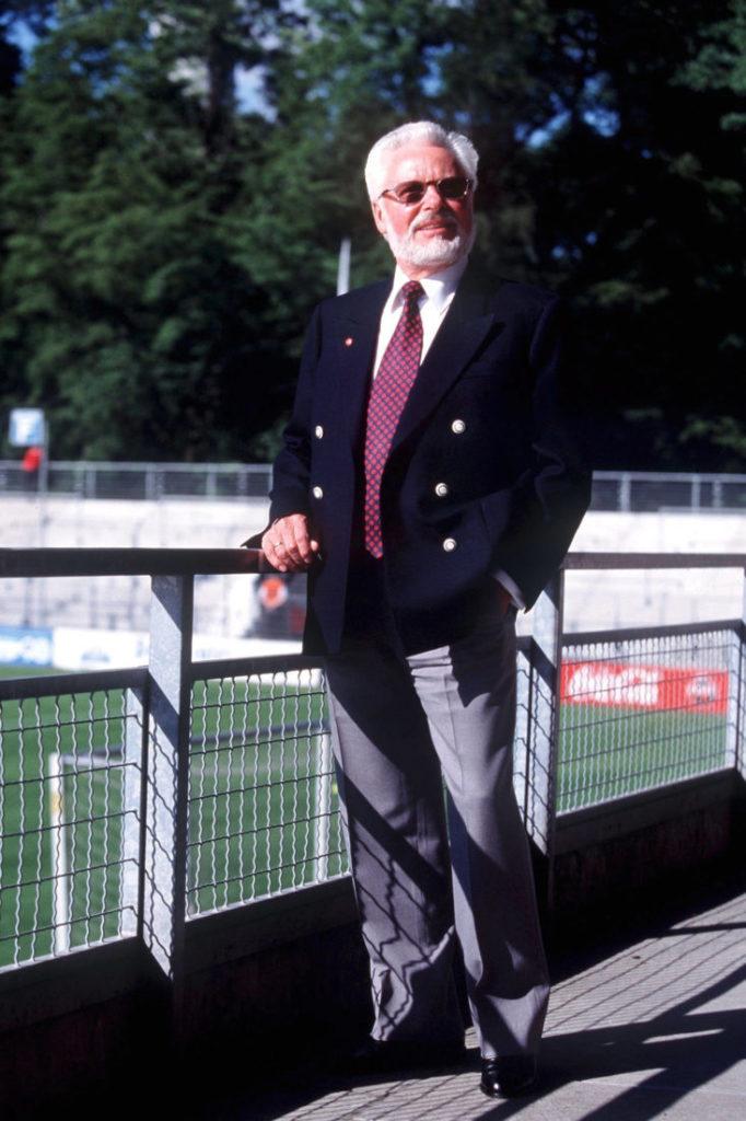 Michael A. Roth - langjähriger Präsident.