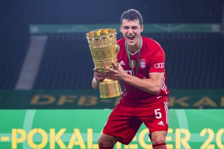 Benjamin Pavard DFB Pokalsieger 2020