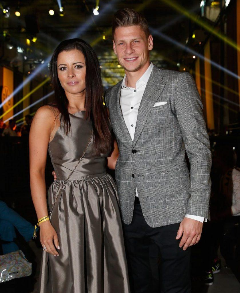 Lukas Piszczek und Ehefrau Ewa im Jahr 2015.