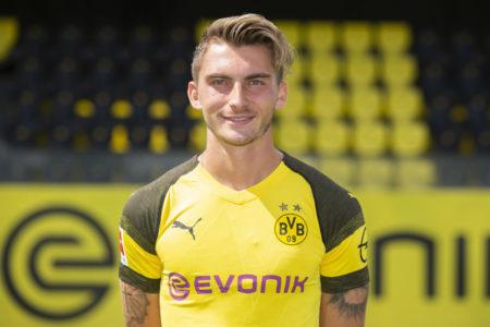 Maximilian Philipp während der Teampräsentation am 10. August 2018 in Dortmund, Germany.