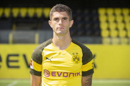 Christian Pulisic in den Farben von Borussia Dortmund.