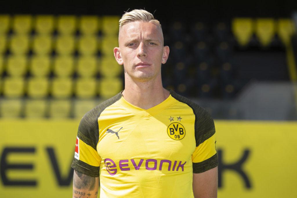 Marius Wolf im Trikot vom BVB