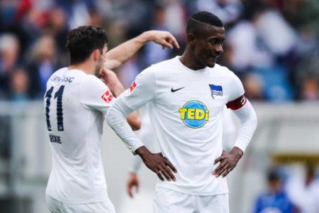 Salomon Kalou of Hertha BSC suspended
