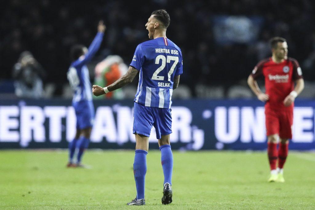 Davie Selke war bis zum 1. August 2019 Rekord-Neuzugang von Hertha BSC.