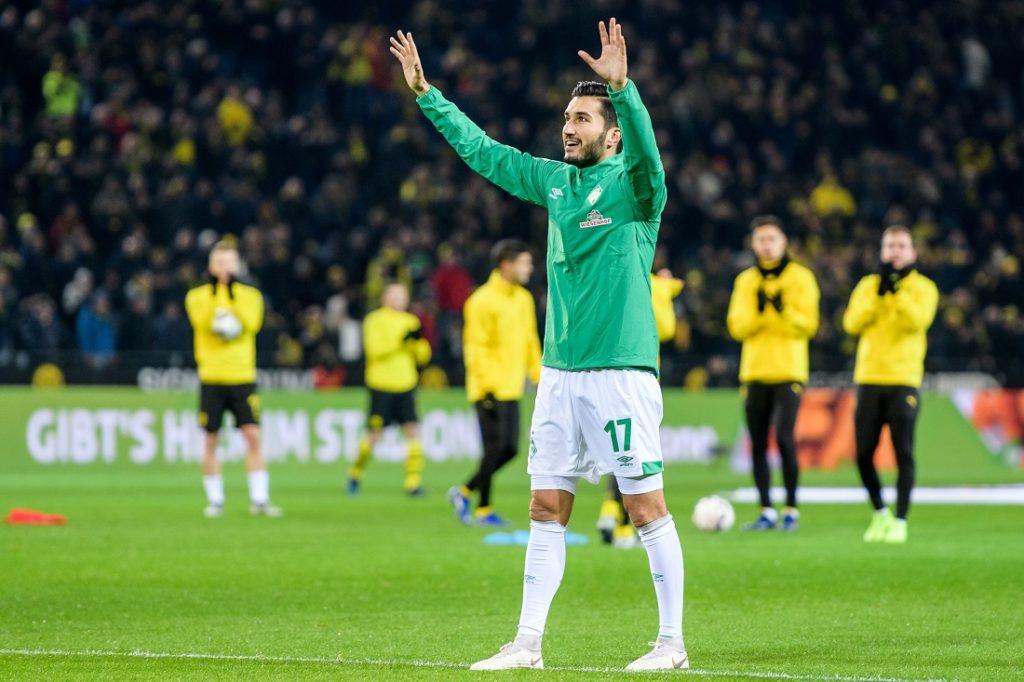 Werder Bremen und Nuri Sahin stehen auswärts - wie hier 2018 in Dortmund - ganz hoch im Kurs.