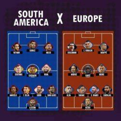 Südamerika vs Europa - Wer würde gewinnen?