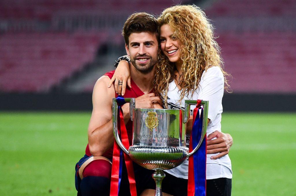 Shakira und Gerard Piqué im Jahr 2015.