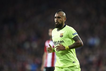 Vidal storms out of club's training session after El Clasico snub