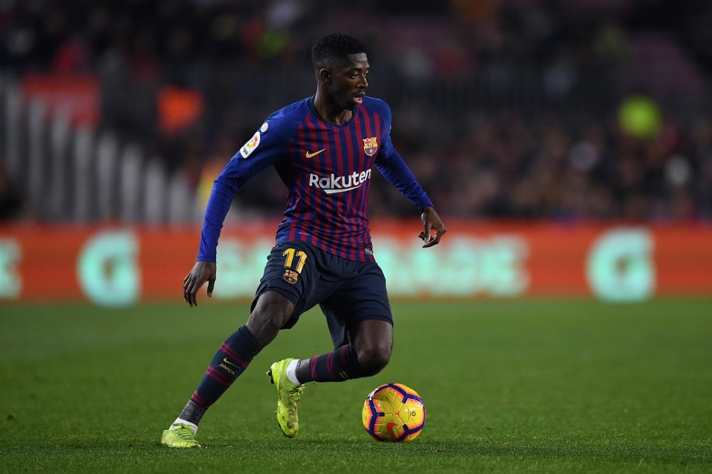 Dembele is on manchester united transfer radar