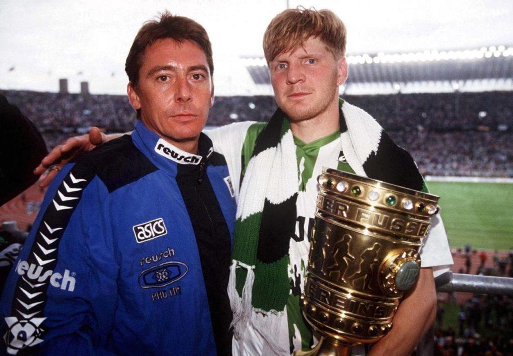 DFB Pokal 1995 - der bis heute letzte Titel für Borussia Mönchengladbach.