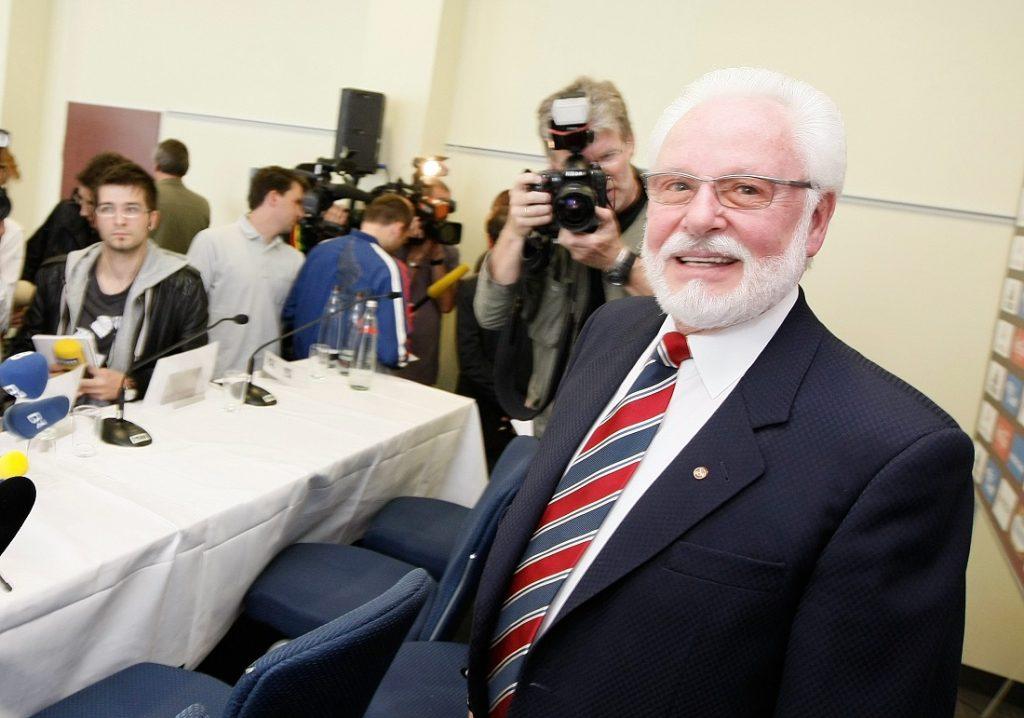 Michael A. Roth, der Patriarch des 1. FC Nürnberg aus vergangenen Zeiten (1994 - 2009).